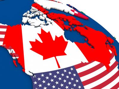 球体のカナダ