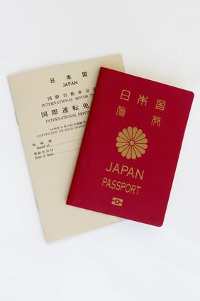 パスポートと国際運転免許証