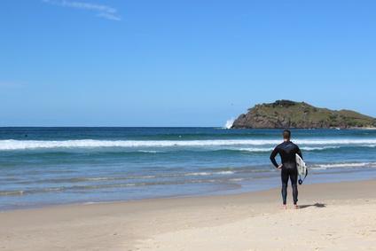 オーストラリアで初サーフィン!?冬に行けば夏のオーストラリア!