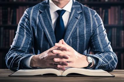 読書と男性