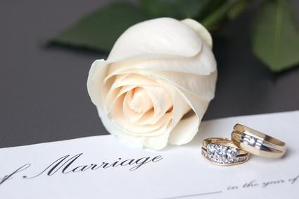 結婚証明書(Marriage Certificate)について