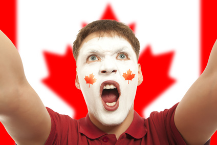 カナダのファン