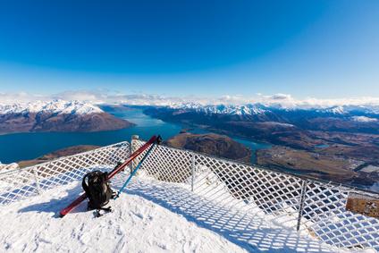山の頂上からの眺め